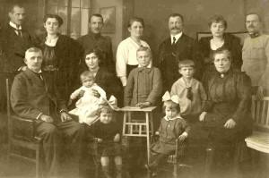 Rodzina Brajenovic - 1919 r.
