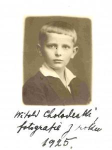 Witold Franciszek Tomasz Chołodecki - 1925 r.